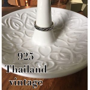 Jewelry - 925 Thailand vintage sterling silver ring